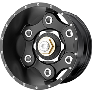 Moto Metal Wheels <br/> MO977 Link Satin Black