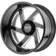 Moto Metal Wheels MO400 Gloss Black Milled