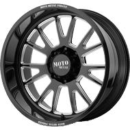 Moto Metal Wheels<br/> MO401 Gloss Black Milled