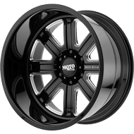 Moto Metal Wheels<br/> MO402 Gloss Black Milled