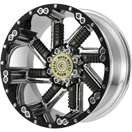 Moto Metal Wheels<br/> MO979 Chrome with Gun Metal Inserts