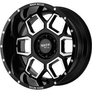 Moto Metal Wheels <br/> MO981 Gloss Black Machined