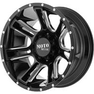 Moto Metal Wheels <br/> MO982 Gloss Black Milled