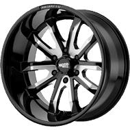 Moto Metal Wheels <br/> MO983 Black Milled