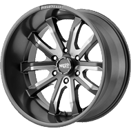 Moto Metal Wheels<br/> MO983 Satin Grey Milled