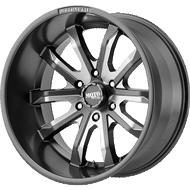 Moto Metal MO983 Satin Grey Milled Wheels