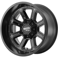 Moto Metal Wheels<br/> MO984 Matte Black w/ Gloss Black Inserts