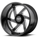MOTO METAL WHEELS <br/>MO400 Gloss Black Milled