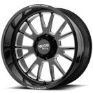 MOTO METAL WHEELS <br/>MO401 Gloss Black Milled