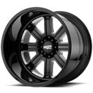 MOTO METAL WHEELS <br/>MO402 Gloss Black Milled