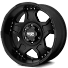 MOTO METAL Wheels <br> MO957 Matte Black