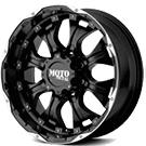 MOTO METAL Wheels <br>MO959 Matte Black & Machined