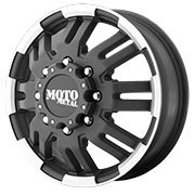MOTO METAL Wheels <br>MO963 Matte Black Machined