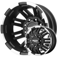 Moto Metal Wheels<br> MO963 Matte Black Machined