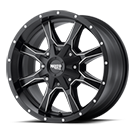 MOTO METAL Wheels <br>MO970 Semi Gloss Black