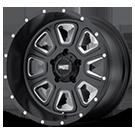 MOTO METAL Wheels <br>MO972 Satin Black