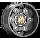 MOTO METAL Wheels <br>MO977 Gun Metal