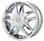 MPW Wheels <br/>MP103 Chrome