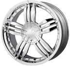 MPW Wheels <br/>MP105 Chrome