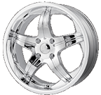 MPW Wheels <br/>MP107 Chrome