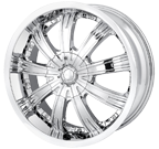 MPW Wheels <br/>MP108 Chrome