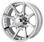 MPW Wheels <br/>MP201 Chrome