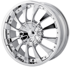 MPW Wheels <br/>MP202 Chrome