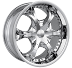 MPW Wheels <br/>MP203 Chrome