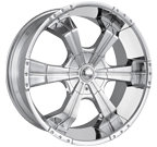 MPW Wheels <br/>MP204 Chrome