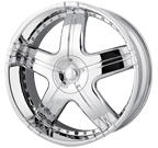 MPW Wheels <br/>MP206 Chrome