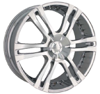 MPW Wheels <br/>MP207 Chrome