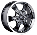 MPW Wheels <br/>MP210 Black Machined