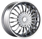 MPW Wheels <br/>MP501 Chrome