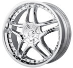 MPW Wheels <br/>MP102 Chrome