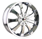 MPW Wheels <br/>MP110 Chrome