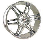 MPW Wheels <br/>MP208 Chrome