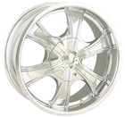MPW Wheels <br/>MP210 Silver with Machined Lip