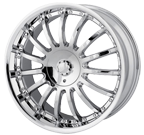 MPW Wheels <br/>MP101 Chrome