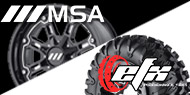 MSA Wheel & EFX Tire Packages