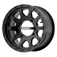 MSA Offroad Wheels <br/>F2 R-Forged Satin Black