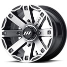MSA Offroad Wheels M27 Rage Machined Gloss Black
