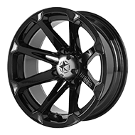 MSA Offroad Wheels <br/> M12 Diesel Gloss Black