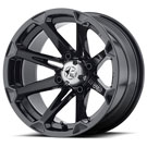 MSA Offroad Wheels M12 Diesel Machined gloss black