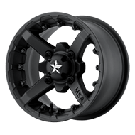 MSA Offroad Wheels <br/>M23 Battle Flat Black