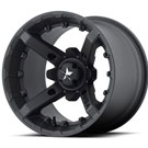 MSA Offroad Wheels M23 Battle Flat Black
