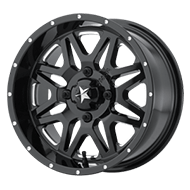 MSA Offroad Wheels <br/>M26 Vibe Milled Gloss Black
