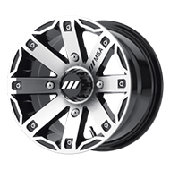 MSA Offroad Wheels <br/>M27 Rage Machined Gloss Black