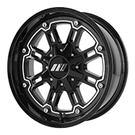 MSA Offroad Wheels <br/>M30 Throttle Machined Gloss Black
