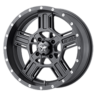 MSA Offroad Wheels <br/>M32 Axe Matte Gray