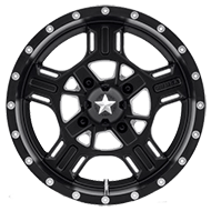 MSA Offroad Wheels <br/>M32 Axe Satin Black